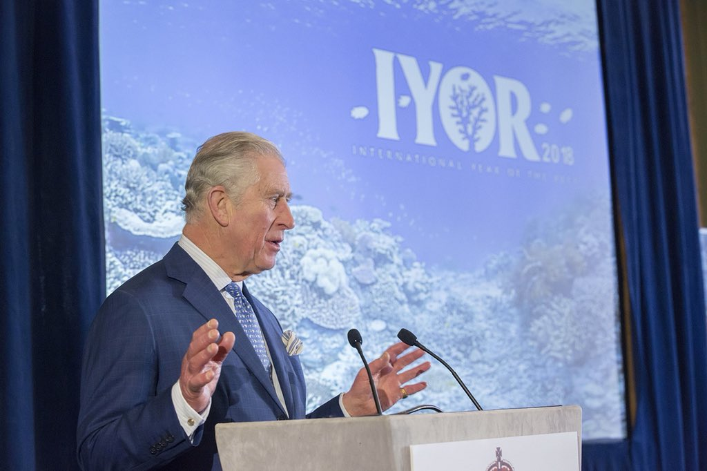 HRH The Prince of Wales Announces a Global Call to Action for the International Year of the Reef 2018