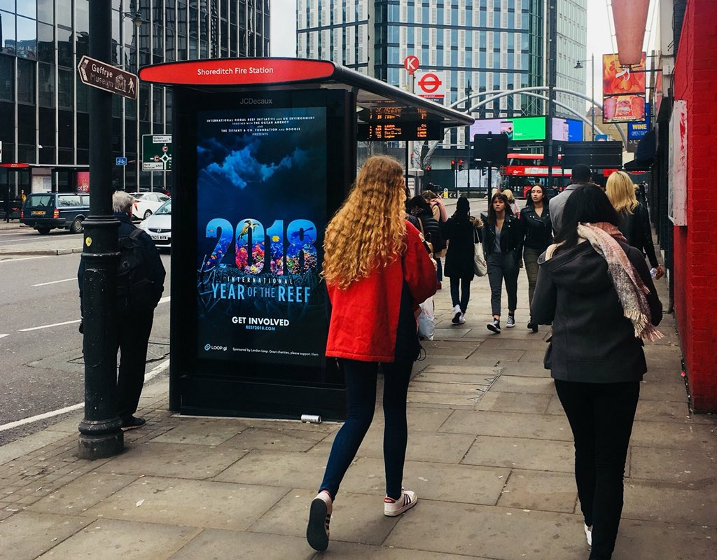 IYOR posters hit the streets of London