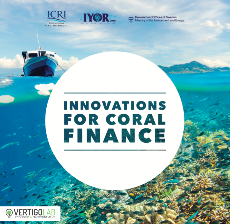 "ICRI Launch ""Innovations for Coral Finance"" Report"