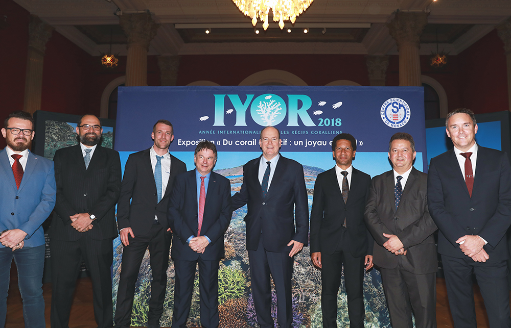 An exceptional evening to celebrate Monaco's commitment to Coral Reefs