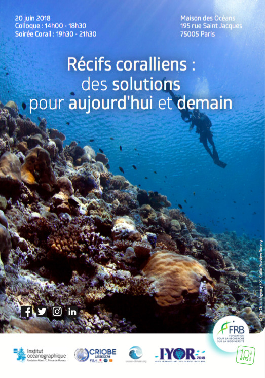 Coral reefs : Solutions for today and tomorrow, France