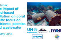 Webinar – Impact of land-based pollution on coral reefs