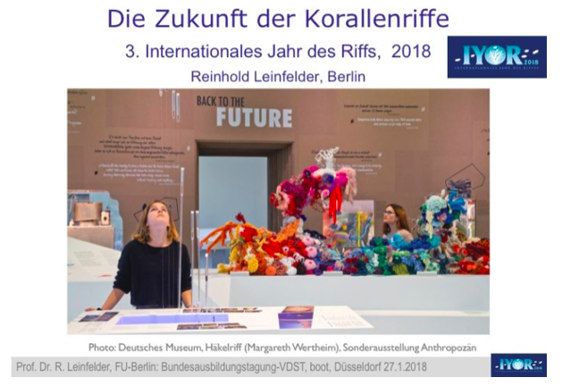 The future of coral reefs – IYOR, Germany