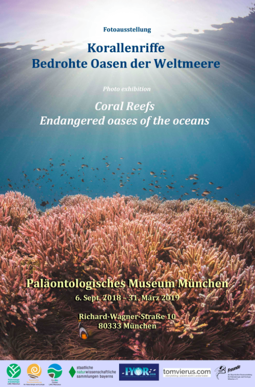 Coral Reefs Art Exhibition – Endangered oases of the oceans, Germany
